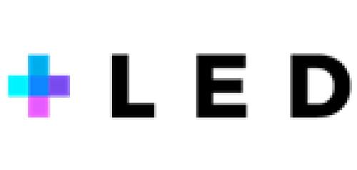 + L E D